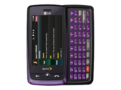 LG Rumor Touch - purple (Sprint)