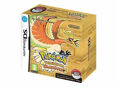 Pokémon Heartgold Version Or (DS) [German]