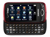 Samsung Reality SCH-u820 - red (Verizon Wireless)
