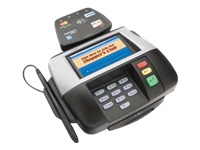 VeriFone MX860 - magnetic stripe reader, signature terminal
