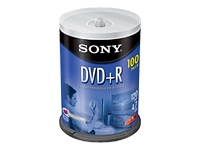Sony DPR47 - DVD+R x 100 - 4.7 GB