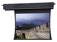 Da-Lite Tensioned Executive Electrol projection screen (rear, motorized)