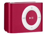 Apple iPod Shuffle (second generation 2007, 1GB, red)
