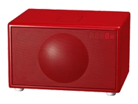 Geneva Sound System Model L (red)