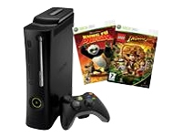 Microsoft Xbox 360 Elite (120GB) Kung Fu Panda & Indiana Jones Bundle