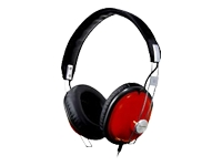 Panasonic RP-HTX7 Monitor Stereo Headphones (Red)