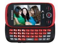 Samsung Seek - scarlet red (Sprint)