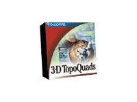 3-D TopoQuads Wisconsin - 2.0 - GPS software