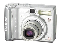 Canon PowerShot A540 - digital camera