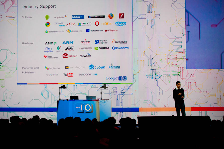 Sundar Pichai at Google I/O 2010