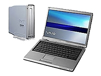 Sony VGN-S260 with External Double-Layer DVD Drive