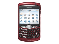 "BlackBerry Curve 8310 - BlackBerry smartphone - GSM - 2.5"" - TFT - red - AT&T"
