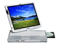 "Fujitsu LIFEBOOK T4220 - 12.1"" - Core 2 Duo T7700 - Win XP Tablet PC  2005 - 1 GB RAM - 100 GB HDD"