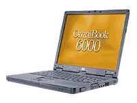 "HP OmniBook 6000 - 15"" - PIII - Win98 SE - 128 MB RAM - 30 GB HDD"
