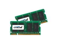 Crucial memory - 4 GB : 2 x 2 GB - SO DIMM 200-pin - DDR2