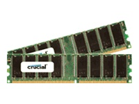 Crucial 512MB Memory Upgrade for Dell Dimension 4600 (2 x 256MB, DDR PC2700)
