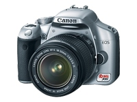 Canon EOS Rebel XSi (with 18-55mm lens, silver)