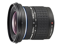 Olympus Zuiko Digital - wide-angle zoom lens - 9 mm - 18 mm