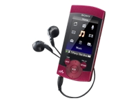 Sony S-Series Walkman (second generation, 8GB, red)