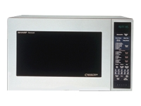 Sharp 900W Convection Microwave Oven, Stainless Steel