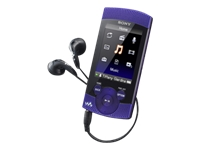 Sony S-Series Walkman (second generation, 8GB, violet)