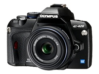 Olympus E-420 (Kit with 25mm F/2.8 lens)
