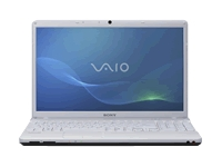 "Sony VAIO E Series VPC-EB25FX/WI - Core i3 350M / 2.26 GHz - Windows 7 Home Premium 64-bit - 4 GB RAM - 500 GB HDD - DVD SuperMulti DL / Blu-ray - 15.5"" wide 1366 x 768 / HD - Intel HD Graphics - silver white - keyboard: QWERTY"