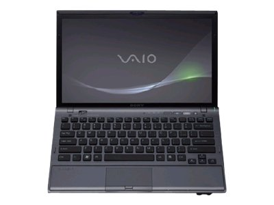 "Sony VAIO Z Series VPC-Z122GX/B - Core i5 520M / 2.4 GHz - Windows 7 Professional 64-bit - 4 GB RAM - 64 GB SSD + 64 GB SSD - DVD SuperMulti DL - 13.1"" wide 1600 x 900 / HD+ - NVIDIA GeForce GT 330M / Intel HD Graphics - black - keyboard: QWERTY"