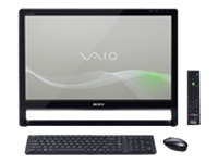 "Sony VAIO L Series All-In-One Touchscreen VPC-L135FX/B - Core 2 Quad Q8400S 2.66 GHz - 6 GB - 500 GB - LCD 24"" - QWERTY"
