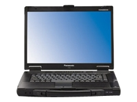 "Panasonic Toughbook 52 - 15.4"" - Core i5 540M - Windows 7 Pro / XP Pro downgrade - 2 GB RAM - 250 GB HDD"
