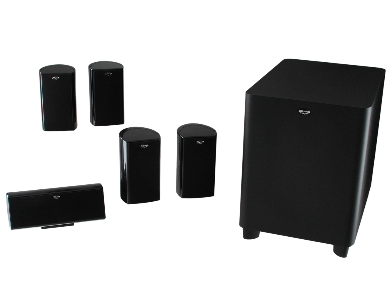 klipsch hd theater 500 review cnet. Black Bedroom Furniture Sets. Home Design Ideas