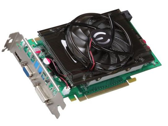 The GeForce 9800 GT card can deliver a huge performance boost to desktops with integrated or low-end graphics.