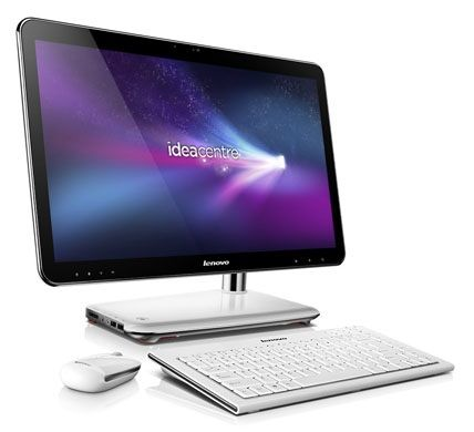 The Lenovo IdeaCentre A300 would make a perfect kitchen PC.