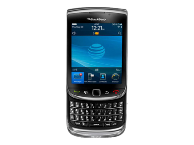 BlackBerry Torch 9800 - charcoal (AT&T)