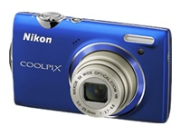 Nikon Coolpix S5100 (Blue)