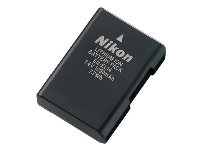 Nikon EN EL14 - camera battery - Li-Ion
