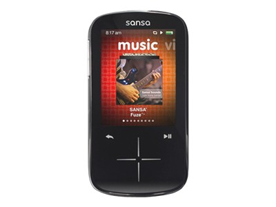 SanDisk Sansa Fuze+ MP3 (black, 8GB)