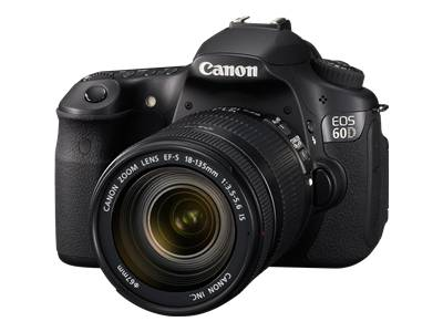 Canon EOS 60D (with 18-200mm lens)