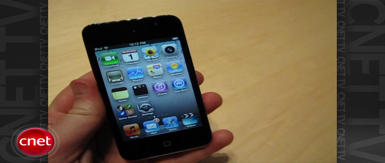 Video: iPod Touch (fourth generation)