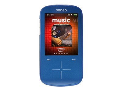 SanDisk Sansa Fuze+ MP3 (blue, 8GB)