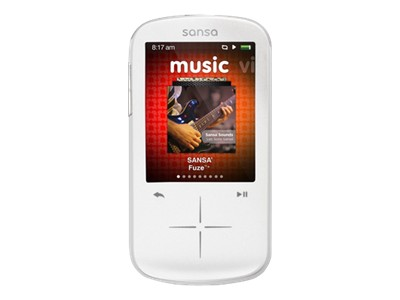 SanDisk Sansa Fuze+ MP3 (white, 8GB)