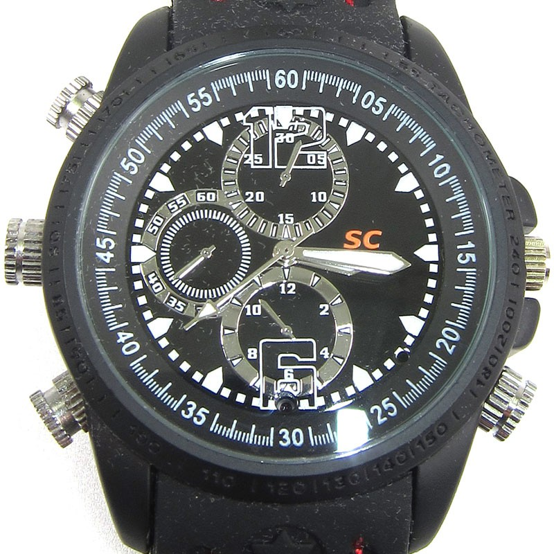 Waterproof Video Camera Spy Watch HD