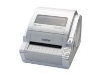 Brother TD 4100N - label printer - monochrome - direct thermal