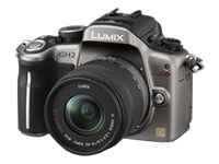 Panasonic Lumix DMC-GH2 (with 14-42mm lens, Silver)