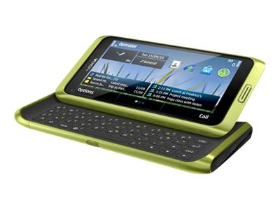 Nokia E7 - green (unlocked)