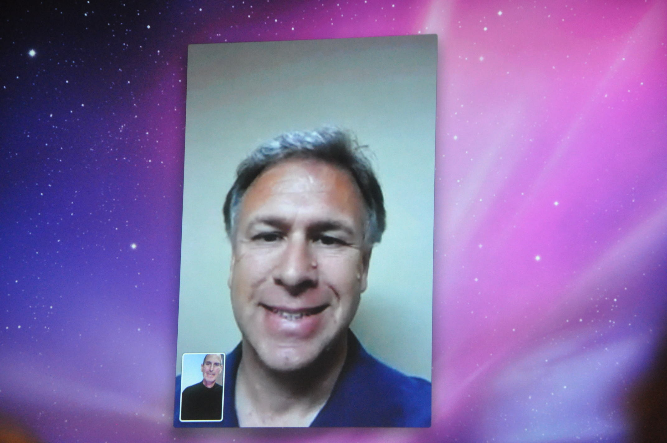 Phil Schiller and Steve Jobs chat on FaceTime