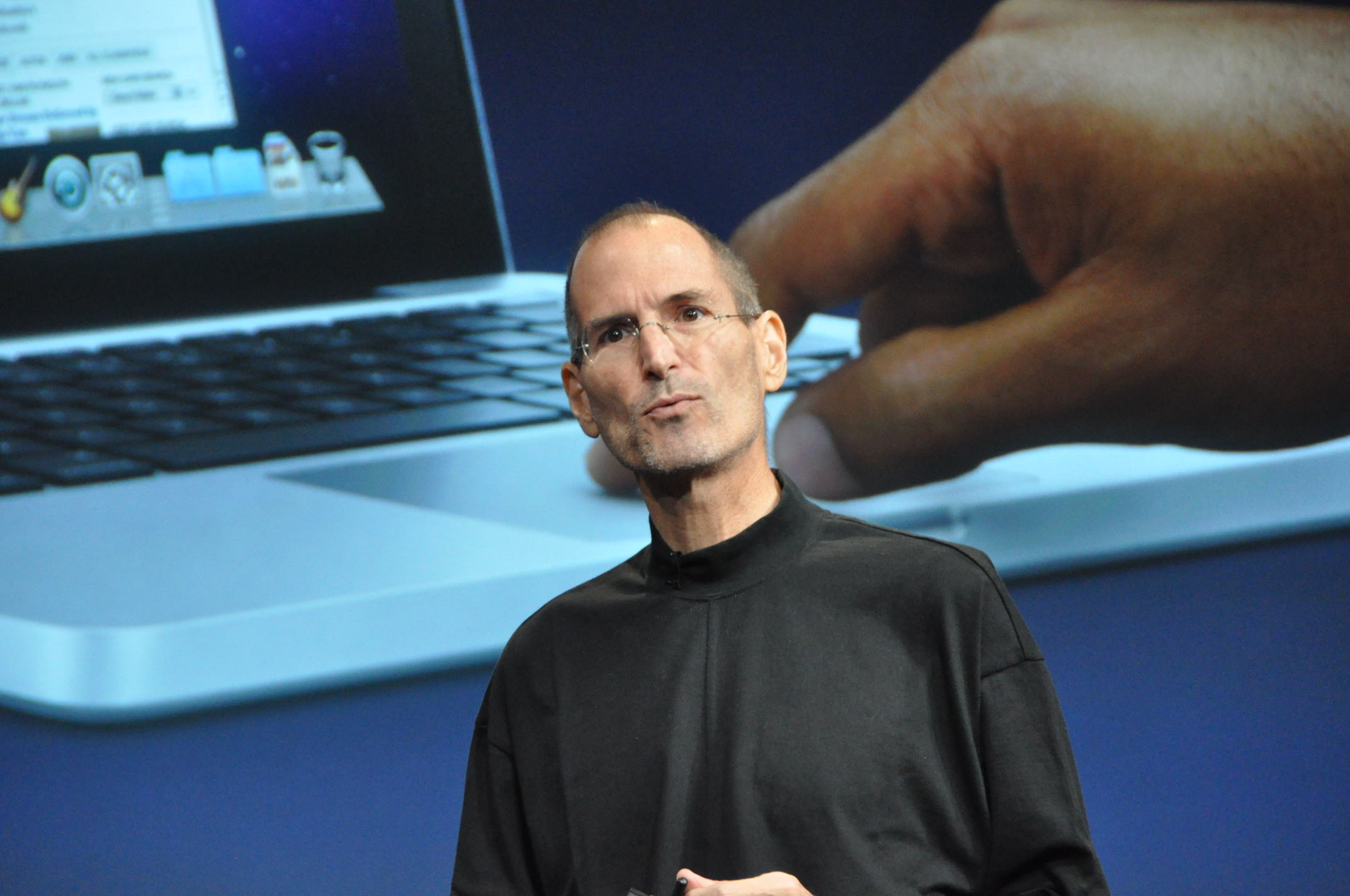 Steve Jobs on multitouch