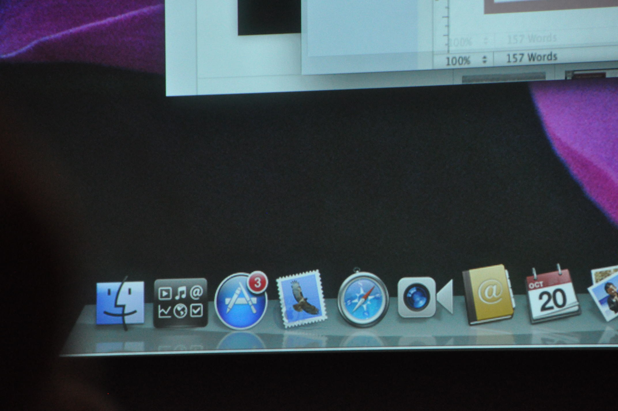App Store icon in Mac dock