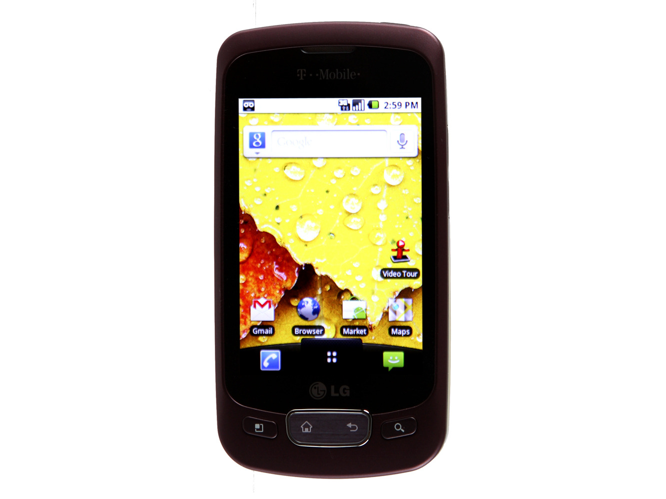 LG Optimus T - burgundy (T-Mobile)