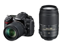 Nikon D7000 (with 18-105mm and 55-300mm lenses)